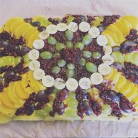 La torta della festeggiata